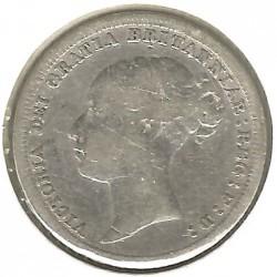 Moeda > 6pence, 1880-1887 - Reino Unido  - obverse