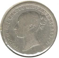 Moneda > 6pence, 1867-1880 - Regne Unit  - obverse