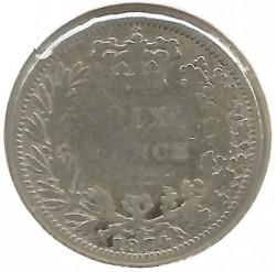Moneda > 6pence, 1867-1880 - Regne Unit  - reverse