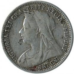 Moneta > 3pensy, 1893-1901 - Wielka Brytania  - obverse