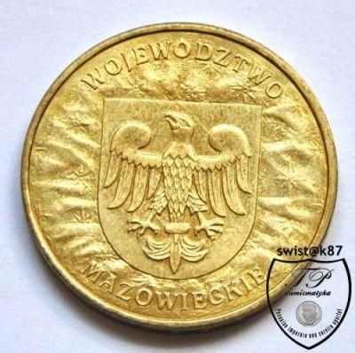 2 злотых польша 2004 y#489 монета конго крещение младенца