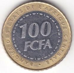 Moneda > 100francos, 2006 - África Central (BEAC)  - reverse
