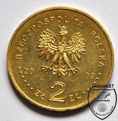 2 злотых 2009 польша 2 руб юбилейные монеты цена