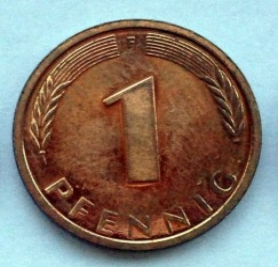 Münze > 1Pfennig, 1997 - Deutschland  - obverse