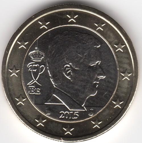 1 Euro 2014 2017 Belgien Münzen Wert Ucoinnet