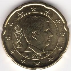 Monēta > 20centu, 2014-2017 - Beļģija  - obverse