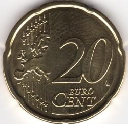 Moneta > 20centesimidieuro, 2014-2019 - Belgio  - reverse