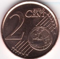 Монета > 2евроцента, 2014-2018 - Белгия  - reverse