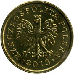 Moneda > 5groszy, 1990-2014 - Polonia  - reverse