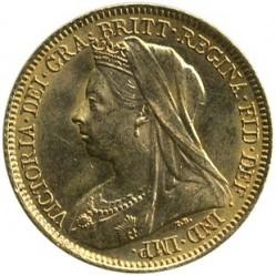 Νόμισμα > ½Λίρα(Πάουν-Σοβερέιν), 1893-1901 - Ηνωμένο Βασίλειο  - obverse