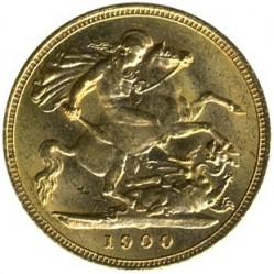 Νόμισμα > ½Λίρα(Πάουν-Σοβερέιν), 1893-1901 - Ηνωμένο Βασίλειο  - reverse