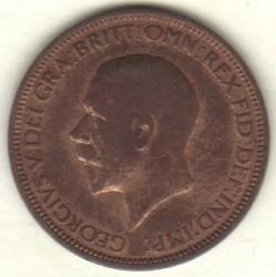 Moeda > ½pence, 1934 - Reino Unido  - obverse