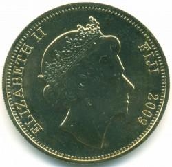 Монета > 1долар, 2009 - Фіджі  (Великі першопрохідці Тихого океану - Вільям Блай) - obverse