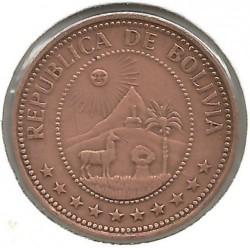 Monēta > 10sentavo, 1965-1973 - Bolīvija  - obverse