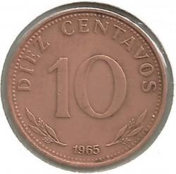 Monēta > 10sentavo, 1965-1973 - Bolīvija  - reverse