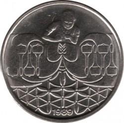 Münze > 50Centavos, 1989-1990 - Brasilien   - obverse