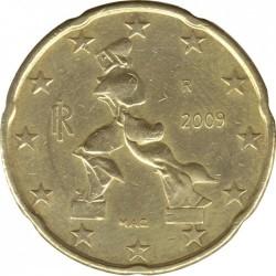 Moneda > 20centsd'euro, 2008-2019 - Itàlia  - obverse
