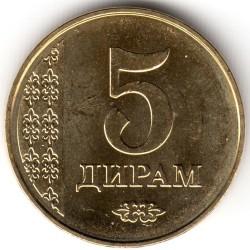 Moneta > 5diram, 2011 - Tagikistan  - obverse