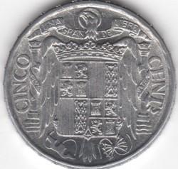 سکه > 5سنتیمو, 1940-1953 - اسپانیا  - obverse