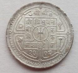 Moneda > 50paisa, 1949-1953 - Nepal  - reverse