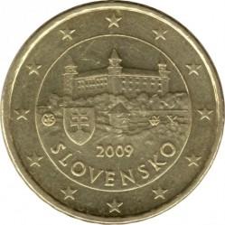 Minca > 10eurocent, 2009-2018 - Slovensko  - obverse