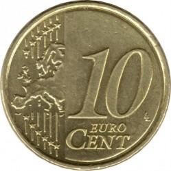 Minca > 10eurocent, 2009-2018 - Slovensko  - reverse