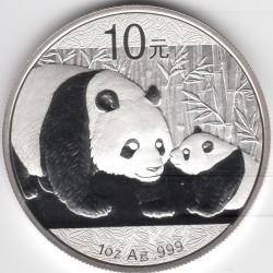 Кованица > 10јуана, 2011 - Кина  (Panda) - reverse