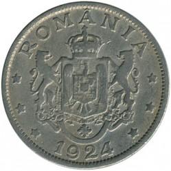 Pièce > 2lei, 1924 - Roumanie  - reverse