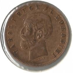 Coin > 5bani, 1882-1885 - Romania  - reverse