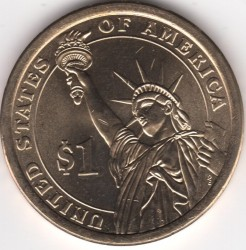 Монета > 1 долар, 2014 - САЩ  (President of the USA - Herbert Hoover (1929–1933)) - obverse