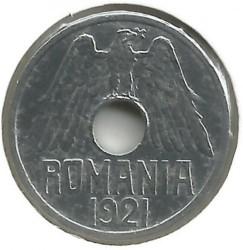 Pièce > 25bani, 1921 - Roumanie  - obverse