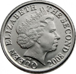 Moeda > 5pence, 1998-2016 - Jersey  - obverse