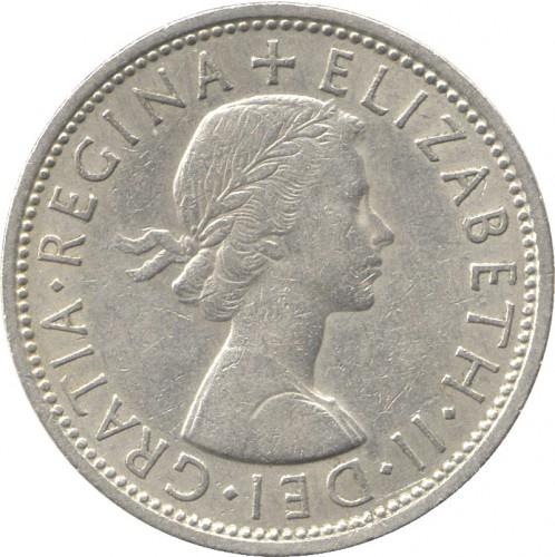 2 Schilling Florin 1954 1970 Vereinigtes Königreich Münzen Wert