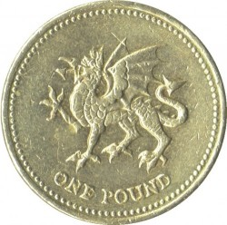 Moneta > 1svaras, 2000 - Jungtinė Karalystė  - reverse