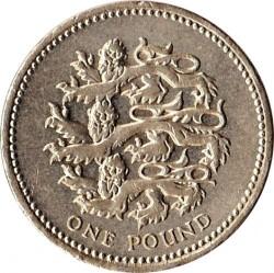Mynt > 1pund, 2002 - Storbritannia  - reverse