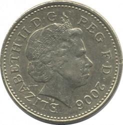 Mynt > 1pund, 2006 - Storbritannia  (MacNeill's Egyptian Arch) - obverse