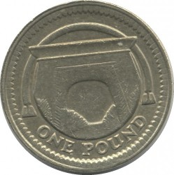 Mynt > 1pund, 2006 - Storbritannia  (MacNeill's Egyptian Arch) - reverse