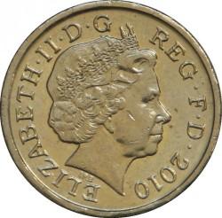 Moneta > 1svaras, 2008-2015 - Jungtinė Karalystė  - obverse
