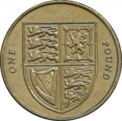 Moneta > 1svaras, 2008-2015 - Jungtinė Karalystė  - reverse