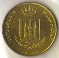 Монета > 200лир, 1983 - Сан-Марино  (Ядерная угроза) - obverse
