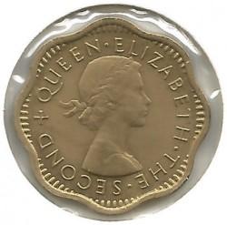 Moneta > 2centai, 1955-1957 - Ceilonas  - obverse