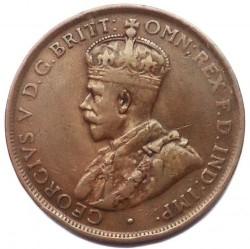 Moneta > 1pens, 1911-1936 - Australia  - obverse
