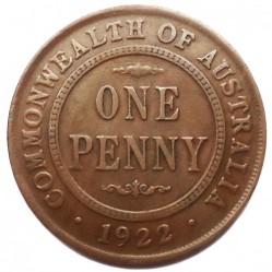 Moneta > 1pens, 1911-1936 - Australia  - reverse
