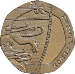 Moneta > 20pensų, 2008-2015 - Jungtinė Karalystė  - reverse