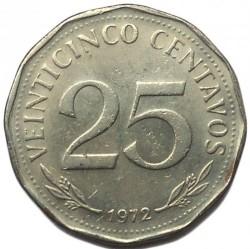 Moneta > 25centavos, 1971-1972 - Boliwia  - reverse