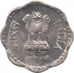 Mynt > 10 paise, 1983-1993 - India  - obverse