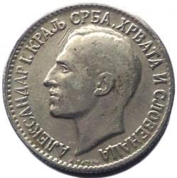 Moeda > 50para, 1925 - Iugoslávia  - obverse