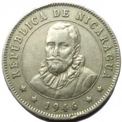 Moeda > 25centavos, 1939-1956 - Nicarágua  - obverse