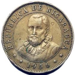 Moeda > 10centavos, 1939-1956 - Nicarágua  - obverse
