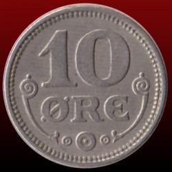 Coin > 10ore, 1920-1923 - Denmark  - obverse